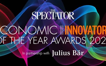 Economic Innovator of the Year at 2020 Spectator Awards
